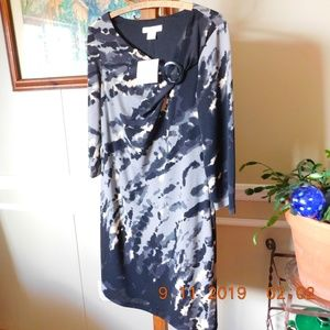 NWT Liz Claiborne Abstract Print Dress